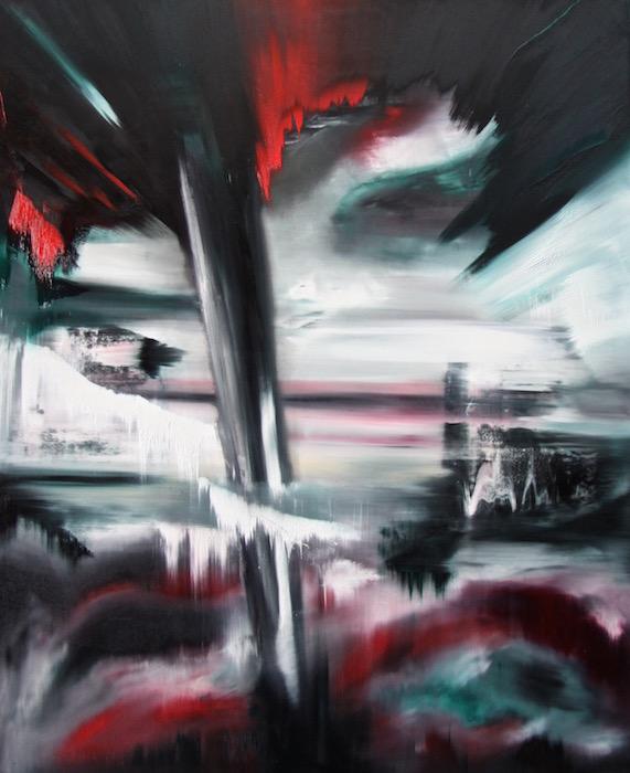 Impatto 2026 Nr. 7 - Öl auf Leinwand - 170 x 140 cm